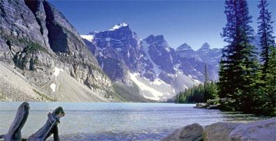 »Kanada Highlights: Moraine Lake, Banff Nationalpark«