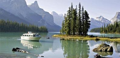»Wandern in Westkanada: Maligne Lake, Jasper«