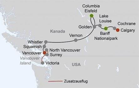»Kanadas Westen - Land der tausend Abenteuer«