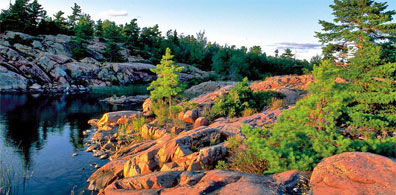 » Great Lakes Mietwagenreise: Killarney Provincial Park «