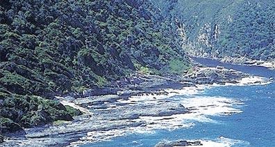»Karoo & Gartenroute: Tsitsikamma NP, Storms River Mouth«