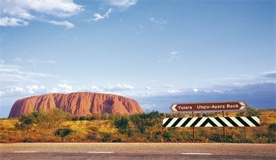 »Kreuz des Südens: Uluru (Ayers Rock)«