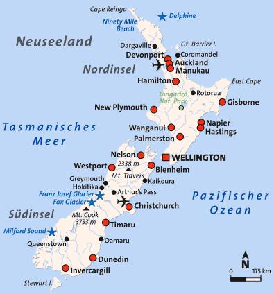 »Neuseeland - Aotearoa - das Land der langen weissen Wolke«
