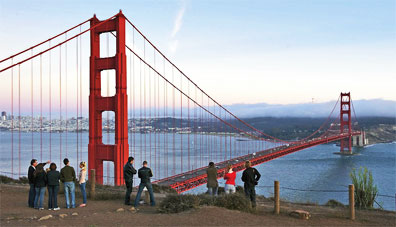 » Las Vegas und die Nationalparks: Golden Gate Bridge «