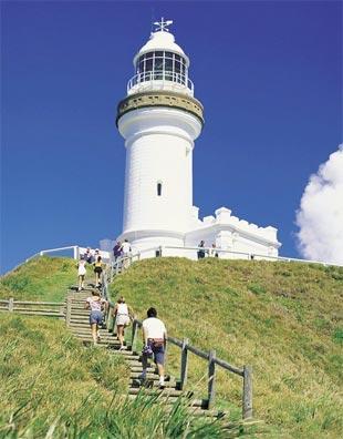 »Metropolen und Strand Australien: Byron Bay«