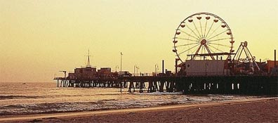 »Reise nach Los Angeles, Santa Monica Pier«