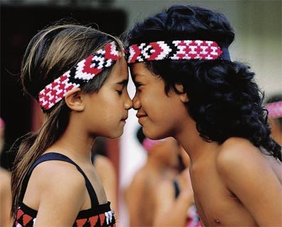 »Große Neuseeland Rundreise: Maori Begrüßung«
