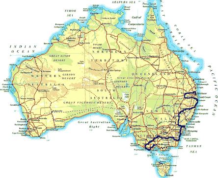 »Individuelle Motorradtouren Melbourne - Sydney - Brisbane«