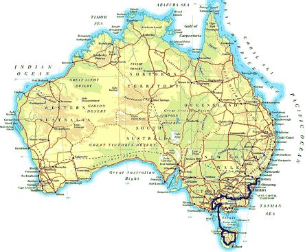 »Individuelle Motorradtouren Melbourne - Tasmanien - Sydney«