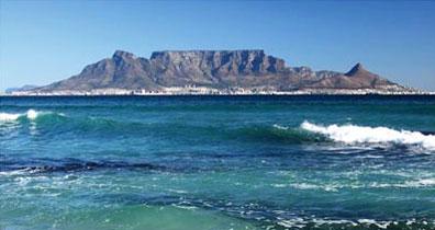 »Küstenszenerie bei Kapstadt - Mietwagenreise Südafrika«