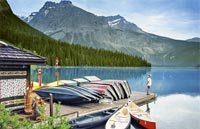 »Mietwagenreise Kanada - Mächtige Rockies & Charmante Küste«