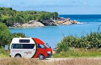 »Mighty Camper Neuseeland - günstige Campervans mieten«