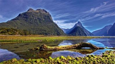»Der Milford Sound auf der Südinsel Neuseelands«