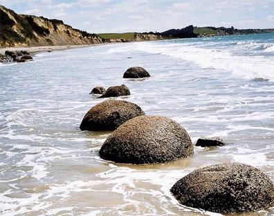 »Discover New Zealand Reise: Moeraki Boulders«