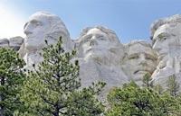 »Transamerika Reise - Mount Rushmore«