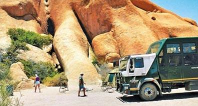 »Namibia Explorer: Rundreise im Safaritruck«