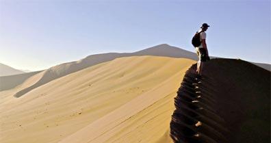 »Aktivreise Namibia hautnah: Sossusvlei Dünen«