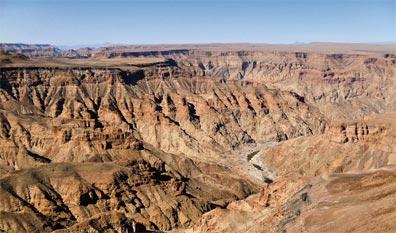 »Die Weite Namibias: Fish River Canyon«