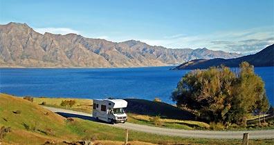»Entdecken Sie Neuseeland mit dem Wohn- und Campmobil«