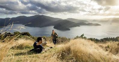 »Neuseeland für Wanderfreunde: Queen Charlotte Track«
