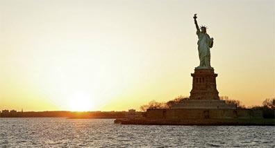 »Sehenswürdigkeiten des Ostens: New York, Freiheitsstatue«