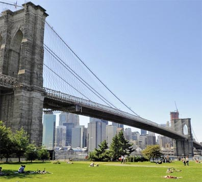 » USA - Kanada - Ostküste: New York mit Brooklyn Bridge «
