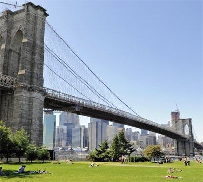 »USA - Kanada - Ostküste: New York mit Brooklyn Bridge«