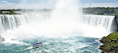 » Niagara Fälle - Great Lakes Mietwagenreise ab/bis Chicago «