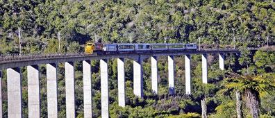 »Northern Explorer von Auckland in die Hauptstadt Wellington«