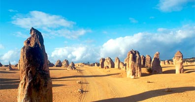 » Die Pinnacles, Nambung Nationalpark Australien «