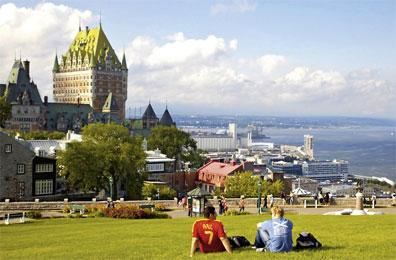 »Eastern Canada: Québec City, Dufferin Terrace«