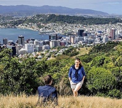 »Zu Hause in Neuseeland: Reise nach Wellington«