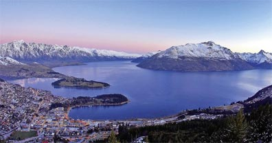 » Bed & Breakfast in Neuseeland: Reise nach Queenstown «