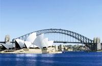 »Flüge und Reisen nach Sydney«