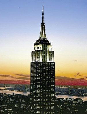 » Eastcoast Explorer: New York, Empire State Building «