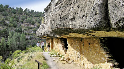 »Walnut Canyon bei Flagstaff - Legendäre Route 66«