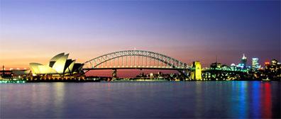 »Erleben Sie die Skyline von Sydney von der Wasserseite aus«