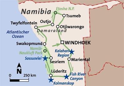 »Reisen nach Namibia«