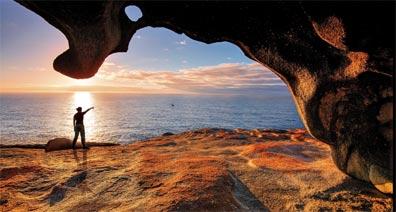 »Australien Reise: Remarkable Rocks, Kangaroo Island«