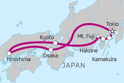 »Der Reiseverlauf«