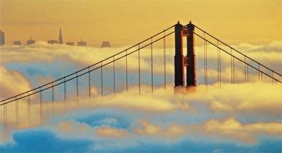 »Der Südwesten & New York: San Francisco, Golden Gate Bridge«