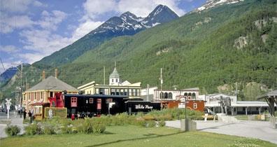 »Mietwagenreise Highlights Alaska & Yukon: Skagway«
