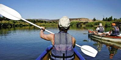 »Kanufahrt auf dem Orange River - Southern Africa Camp Safari«