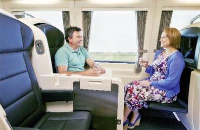 »Fahrt mit dem Zug The Spirit of Queensland: Rail Bed Tag«