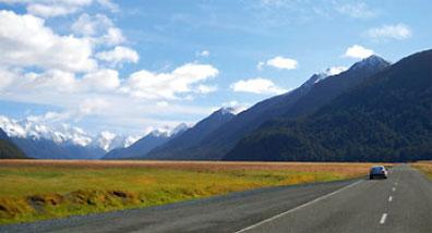 »Mietwagenreisen Südinsel Neuseeland«