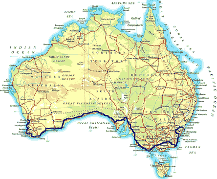 »Individuelle Motorradtouren Sydney - Melbourne - Perth«
