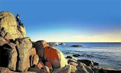 » Tasmania Grand Circle: Bay of Fires bei St. Helens «