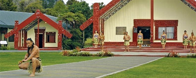 »Auf den Spuren der Maori: Te Puia«