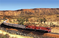 »The Ghan - Mit der Bahn durch Australien«