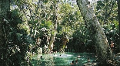 »Rundreise Traumzeit Australien: Thermalbad, Mataranka«